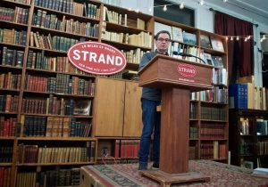 Gerhard Steidl speaking at The Strand
