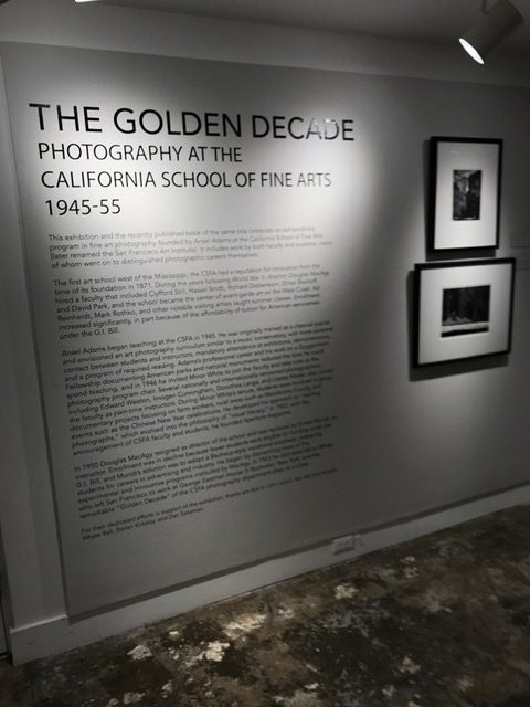 The Golden Decade Exhibit.